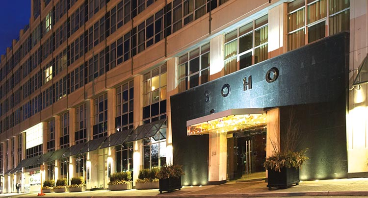SoHo Metropolitan Downtown Toronto Luxury Hotel Online Booking Reseravation